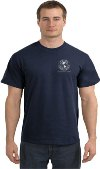 SH3900 - HIGGINS & LANGLEY T-SHIRT- Navy